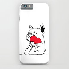 Frenchie Heart iPhone 6 Slim Case