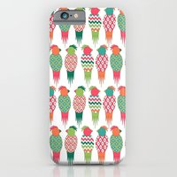 iPhone & iPod Case featuring Parrots by basilique