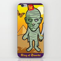 King Of Swords iPhone & iPod Skin