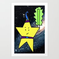 Star Warrior  Art Print