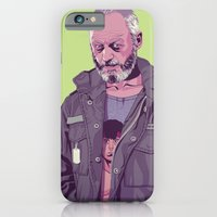 iPhone Cases featuring GAME OF THRONES 80/90s ERA CHARACTERS - Davos Seaworth by Mike Wrobel