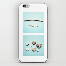 Sticks And Stones iPhone & iPod Skin