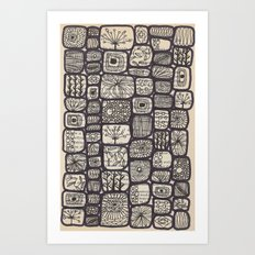 lives of a cell Art Print
