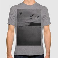 Pelícano Mens Fitted Tee Athletic Grey SMALL