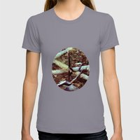 Reflection Womens Fitted Tee Slate SMALL