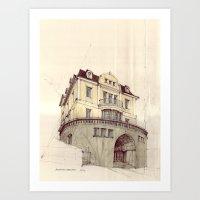 Hohenzollernstraße, Stu… Art Print