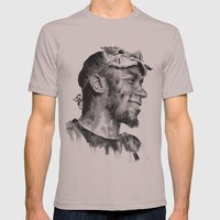 Mos Def Mens Fitted Tee Cinder SMALL