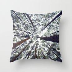 Light Through the Trees Throw Pillow