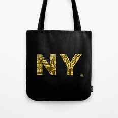 NIGHT NY - PM Tote Bag