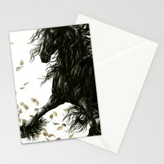 Autumn Friesian Stationery Cards