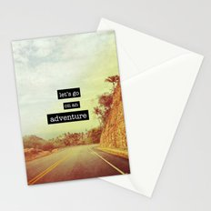 Adventure Stationery Cards