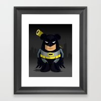 Mr. Batataman Framed Art Print