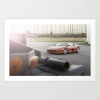 Ferrari F355 GTS Art Print
