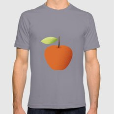 Apple 05 Mens Fitted Tee Slate SMALL