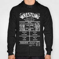 #17-B Memphis Wrestling Window Card Hoody