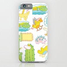 Unicorn Pattern iPhone 6 Slim Case