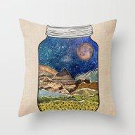 Star Jar Throw Pillow