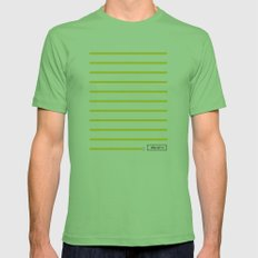 0:59 Mens Fitted Tee Grass SMALL