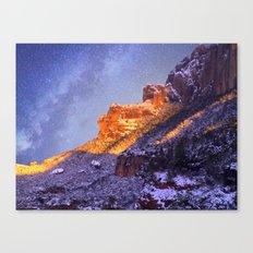 Montserrat Mountains Canvas Print