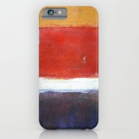 Mark Rothko Interpretation Acrylics On Paper iPhone 6 Slim Case