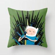 Finn / Game Thrones Throw Pillow