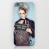 iPhone & iPod Case featuring 1960's Mugshot by Rebecca Handler