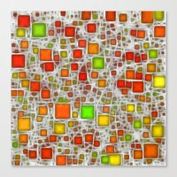 Ceramics Citrus Canvas Print