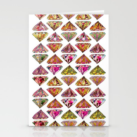 These Diamonds Are Forever Stationery Card