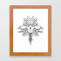 GOD III Framed Art Print