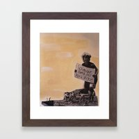 Save the Parks Framed Art Print
