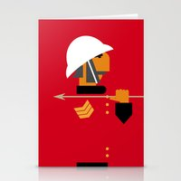 The man who would be king Stationery Cards