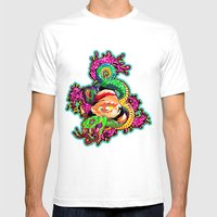 SnakeEyes Mens Fitted Tee White SMALL