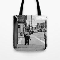 Life In a Guitar Town Tote Bag