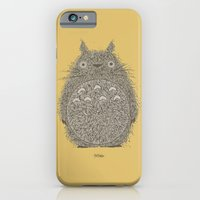 iPhone & iPod Case featuring Yellow Totoro by The Babybirds