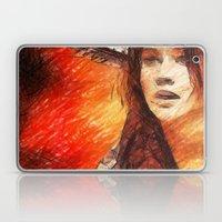 Girl On Fire  Laptop & iPad Skin