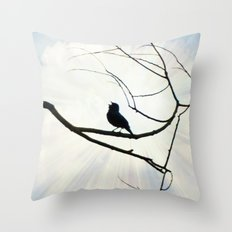 Sing Like You Mean It! Throw Pillow