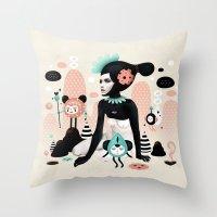 Kobana - Muxxi X Ruben I… Throw Pillow