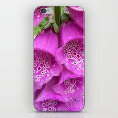 digitalis bloom macro II iPhone & iPod Skin