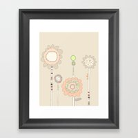 Little Daisies Framed Art Print