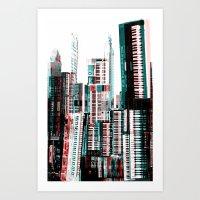 Keyboard Dreams Art Print