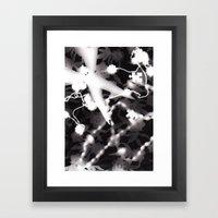 Photogram Framed Art Print