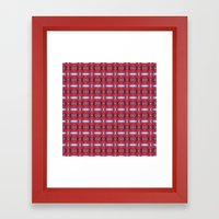 Pttrn23 Framed Art Print