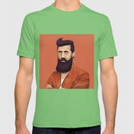 T-shirt featuring The Israeli Hipster Lead… by Amit Shimoni