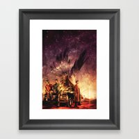Carry On My Wayward Son Framed Art Print