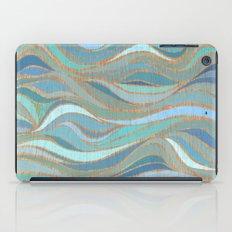 Wave lines 1 iPad Case
