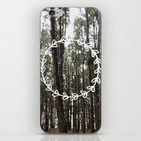 do think be positive iPhone & iPod Skin