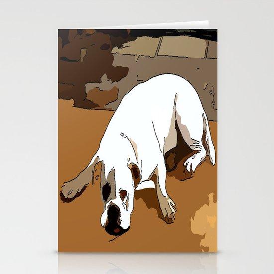 Dog Stationery Card