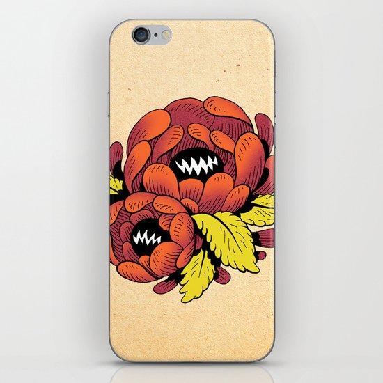 Grim Blossom iPhone & iPod Skin