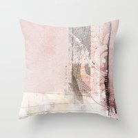 Stiches Throw Pillow
