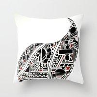 Paisley Geo Melee Throw Pillow